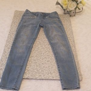 Route 66 Light Wash Blue Girl Jean Size 10